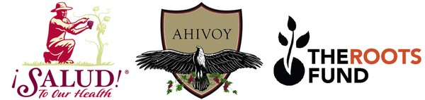 Salud, AHIVOY and The Roots Fund Logos